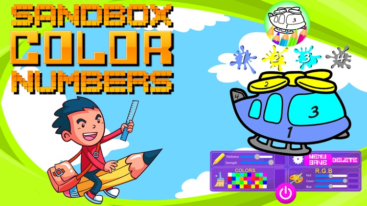 Sandbox Color By Numbers screenshot-4