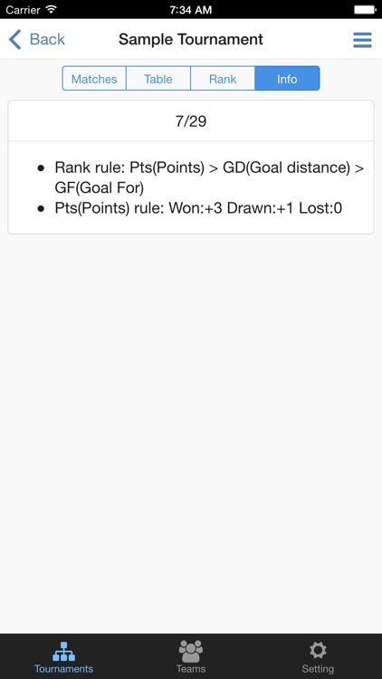Football Tournament Maker screenshot-3