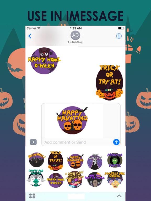 Scary HalloweenMoji Stickers screenshot 6