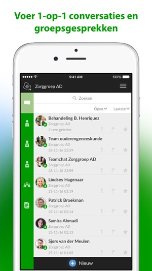 iphone text message zorg messenger on the app 4418