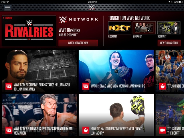 wwe network password free