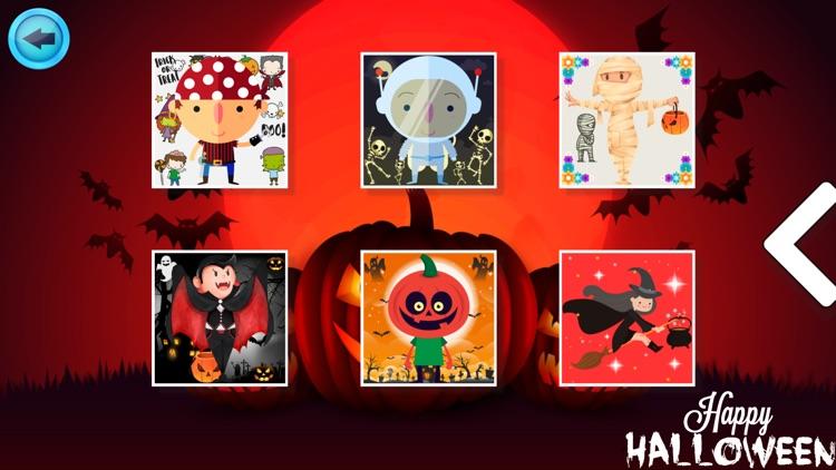 Cute Halloween Jigsaw screenshot-4