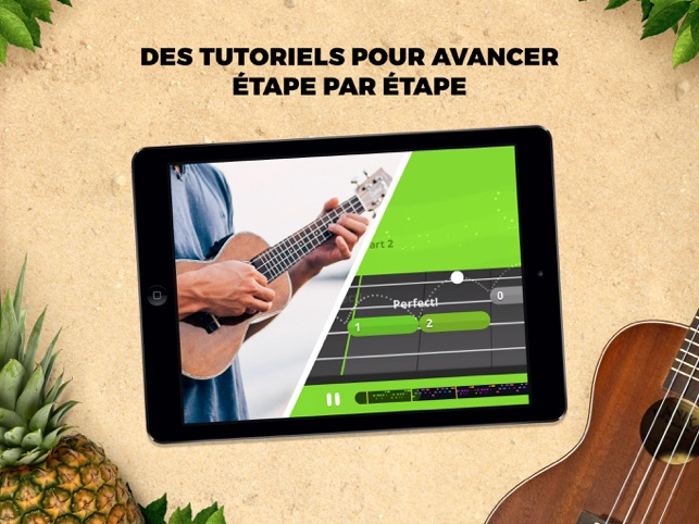 Yousician Guitar, Piano & Bass Capture d'écran