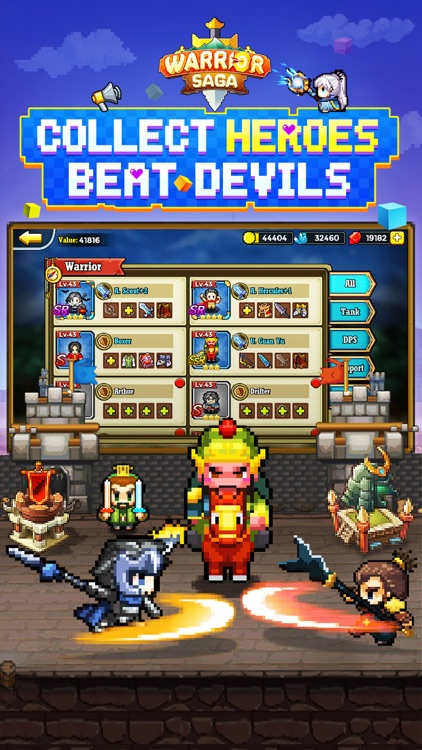 Warrior Saga: Pixel Adventure screenshot-3