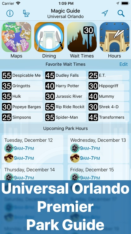 Magic Guide: Universal Orlando screenshot-0