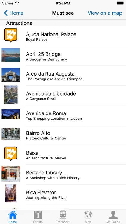 Lisbon Travel Guide Offline screenshot-3