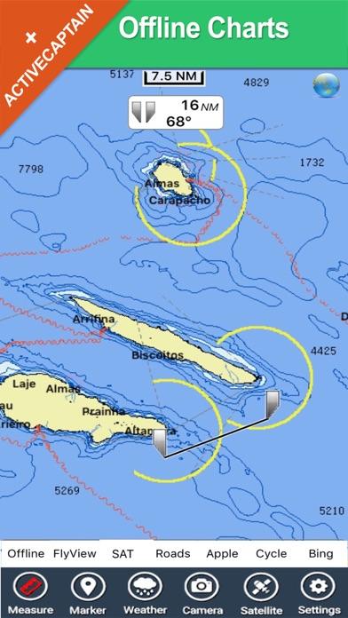 Azores Islands Charts Gps Map Navigator App Price Drops