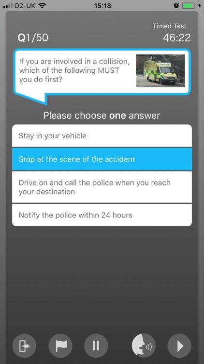 MJH Driving Theory Test screenshot-3