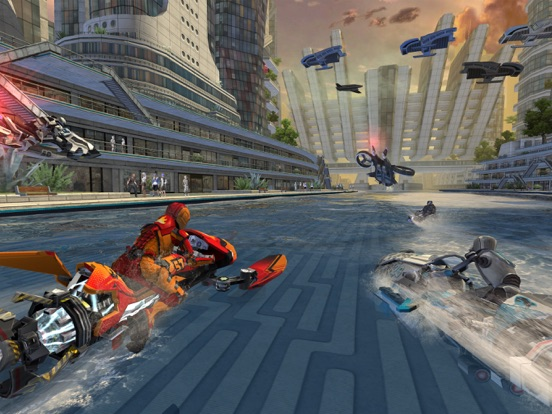 Riptide GP: Renegade на iPad