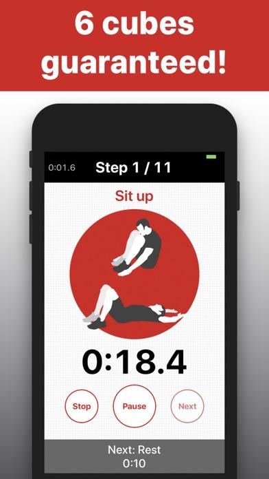 Sit Ups - 6 pack abs trainingsのおすすめ画像2
