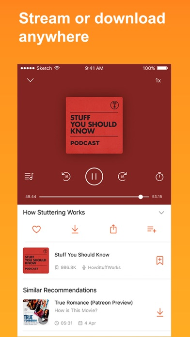 download CastBox - The Podcast App apps 1