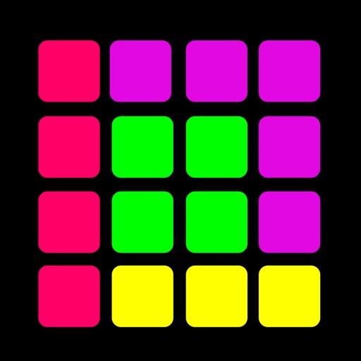 1010 головоломка блок свечение