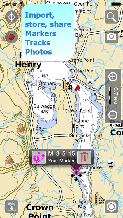 Aqua Map Vermont Lakes GPS