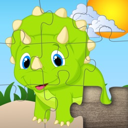 Dinosaur jigsaw puzzle for kids & toddlers