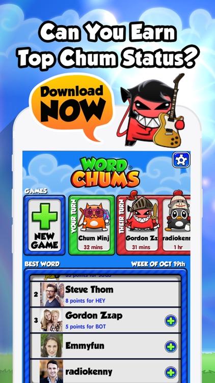 Word Chums screenshot-4