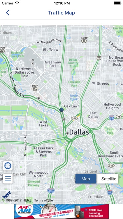 WFAA-North Texas News, Weather screenshot-4