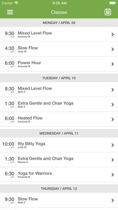 Life Moves Yoga screenshot three