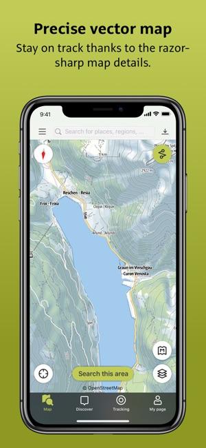 alpenverein app