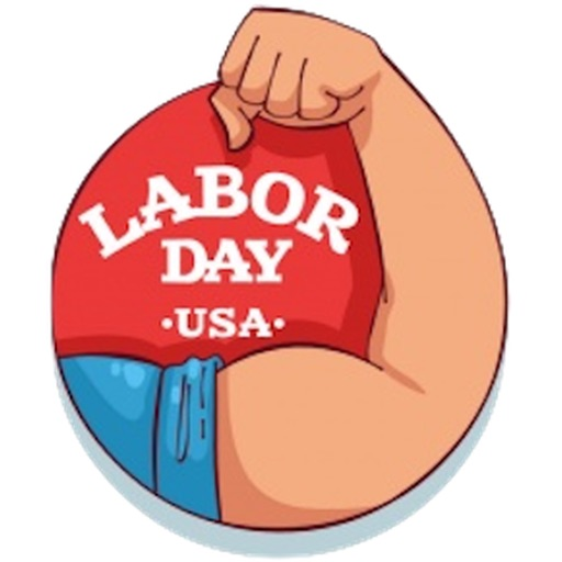 Happy Labor Day 2017 Sticker