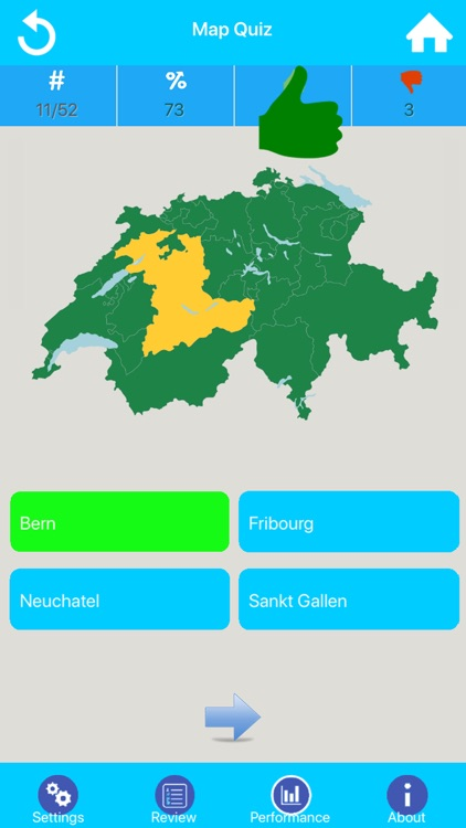 Swiss Canton Quizzes screenshot-1