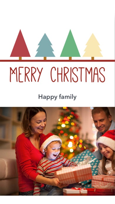 christmas card maker 2017 - Christmas Photo Card Maker