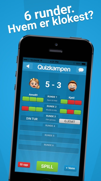 Quizkampen™ screenshot-2