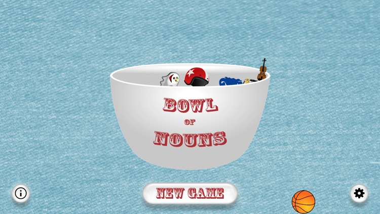 Bowl of Nouns - Party Game