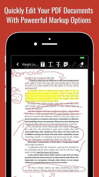 PDF Documents Reader & Editor