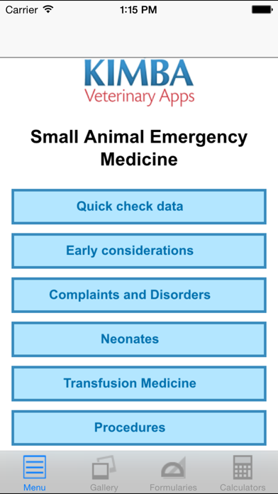 Veterinary Emergency Medicine Small Animal