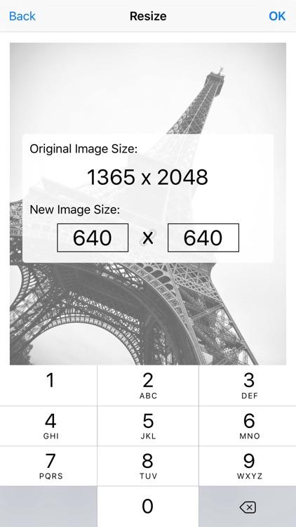 Image Resizer Pro - image crop