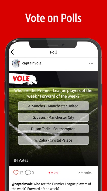 VOLE - Sports Social Network screenshot-2