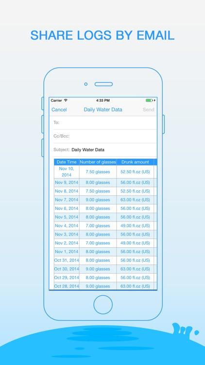 Daily Water - Drink Reminder screenshot-4