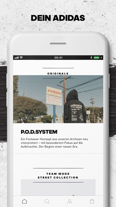 Screenshot for adidas - Sports & Style in Switzerland App Store