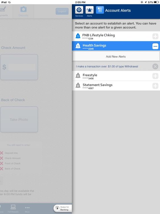 FNB Direct for iPad screenshot-3
