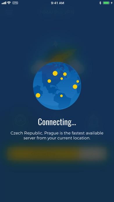 HMA! Hotspot VPN & Proxy Screenshot