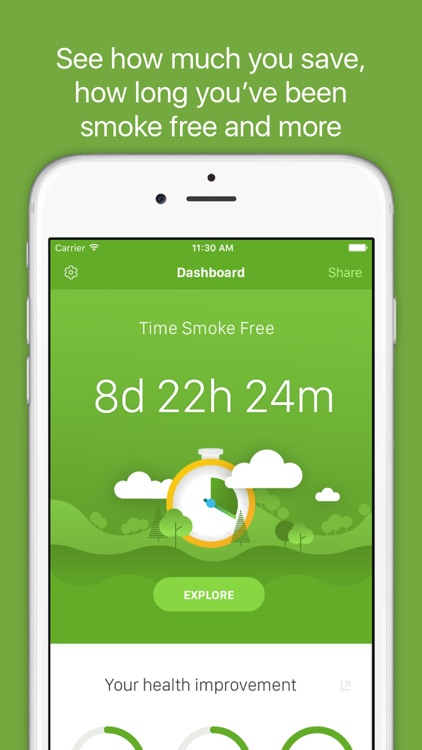 Smoke Free - Quit Smoking Now