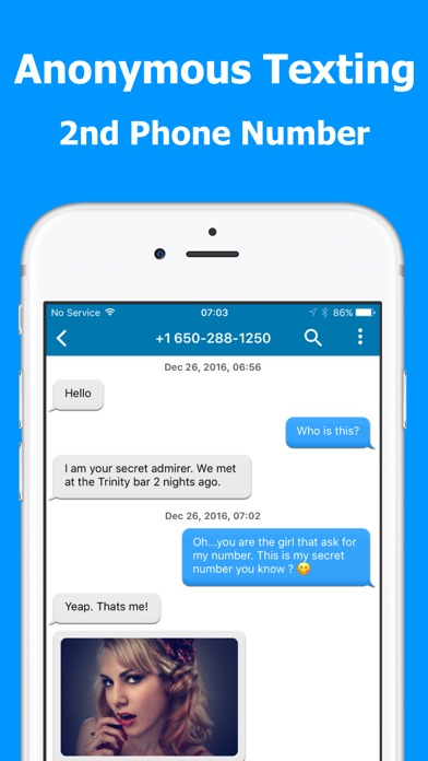Text Burner -Texting Anonymous Screenshot