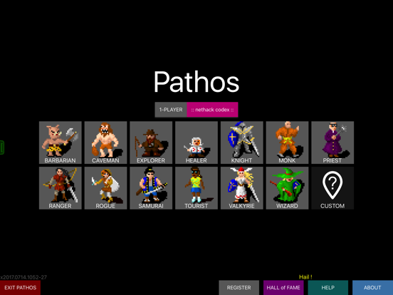 Pathos: Nethack Codex by Callan Hodgskin (iOS, United States