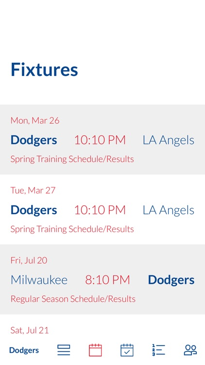 Go Los Angeles Dodgers!