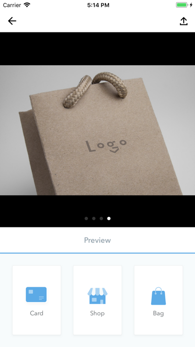 LogoSOS -graphic logo design Screenshots