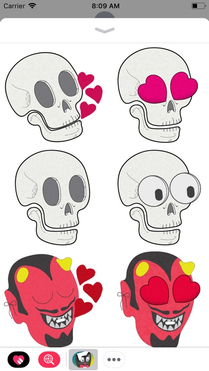 Hallows' Eve Stickers