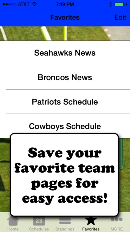 Football Scores & Schedules - NFL Edition screenshot-2
