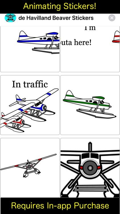 DHC-2 Beaver Sticker App screenshot-5