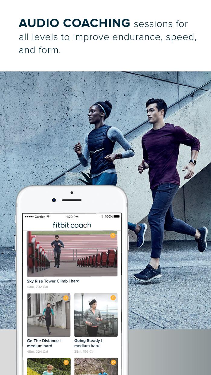Fitbit Coach Screenshot