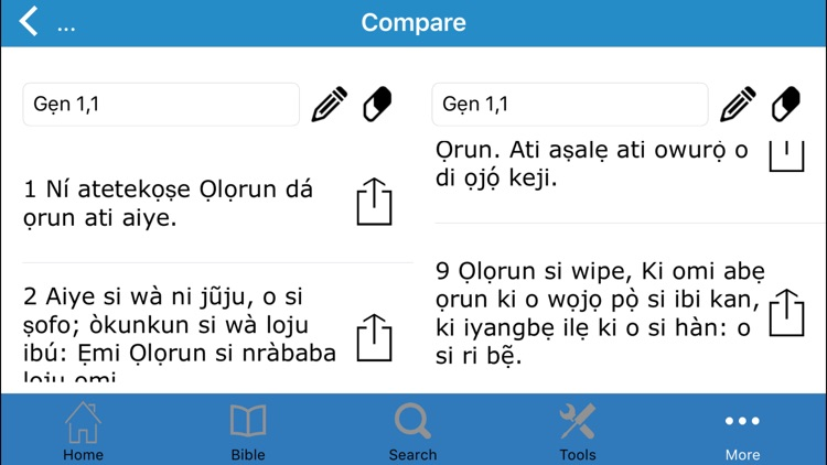 Bibeli Mimọ (The Bible in Yoruba) screenshot-2