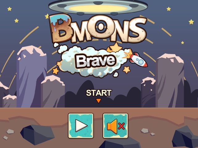 Bmons Brave, game for IOS