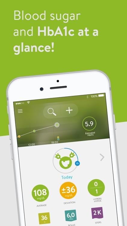 mySugr: Diabetes Tracker Log screenshot-0