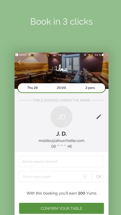 TheFork - Restaurants bookings screenshot-4