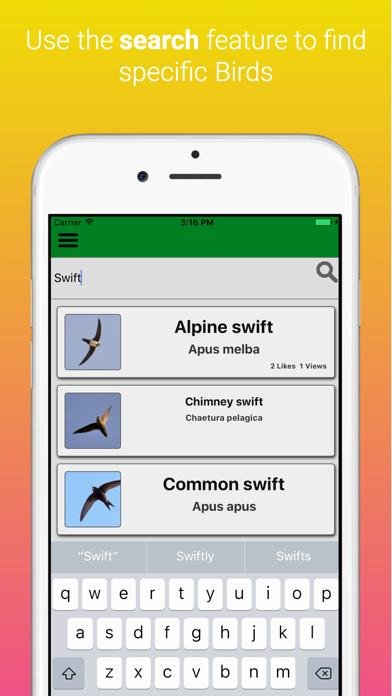 UK Birds Dictionary Pro screenshot four