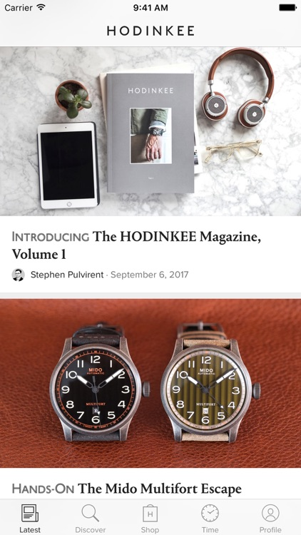 HODINKEE screenshot-0
